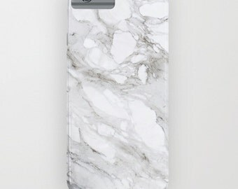 WHITE MARBLE iPhone/iPod/Galaxy CASE