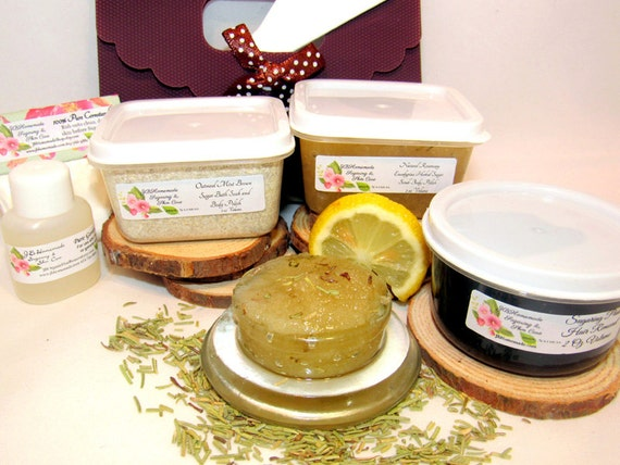 Eucalyptus Rosemary Scrub Sugaring Paste Deluxe Starter Kit