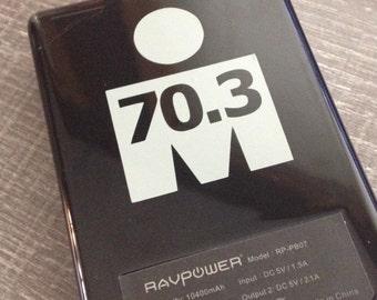 70.3 Half Ironman Triathlon M-dot Vinyl Sticker