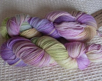 Hand Dyed Merino DK Yarn In Rainbow Colours