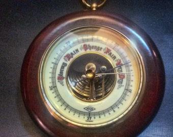 Vintage ATCO JG Gischard Germany 1651 Wall Barometer