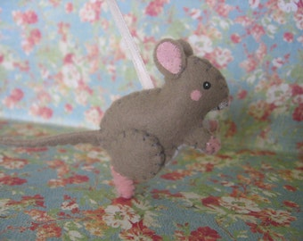 Field Mouse Ornament