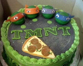 Teenage Mutant Ninja Turtles Cake Top