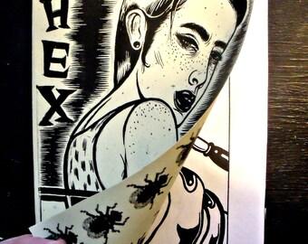 HEX ZINE - artist as witch