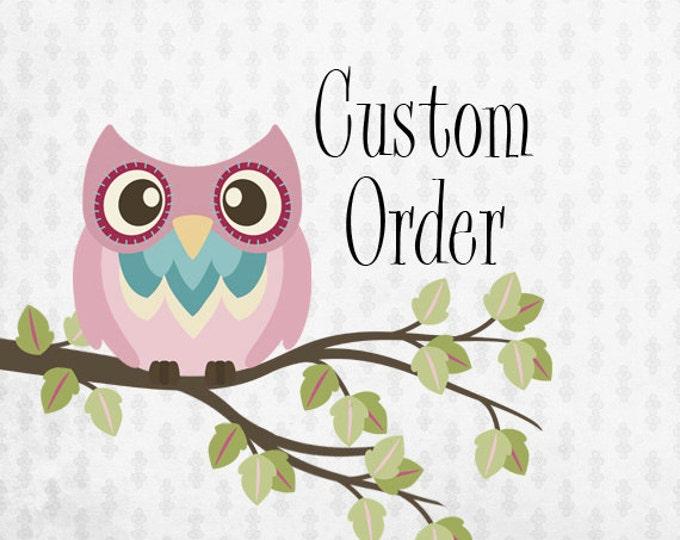 Custom order for jahvonna-custom elephant confetti order-pink and grey elephants-priority mail up-grade add on