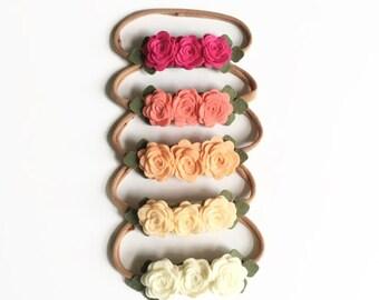 Rosie Bunch Headband - One Size Fits All Headband