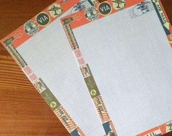 Airmal Writing Paper Set- Stationery