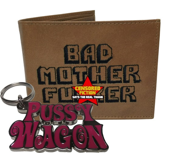 BMF Wallet The Original Version Combo with Pussy Wagon Key Chain