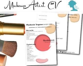 Makeup Artist Resume Cover Letter - Mugeek Vidalondon