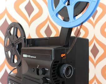 Eumig S932 High Quality Sound/silent Super 8mm & Single 8  Cine Film Projector movie 1980s kodak
