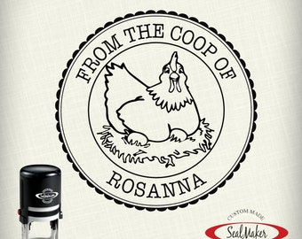 """From the Coops of... Stamp, Custom Self-inking Stamp - """"Coop-2"""""""