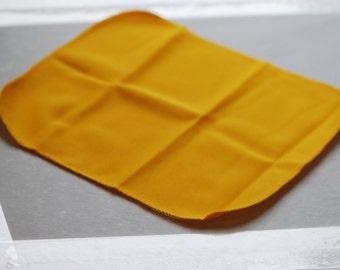 Lint Free cloth, Yellow, 25 x 25cm, JSP, Diamond, Stone, Lens Cleaning Cloth, BT5464