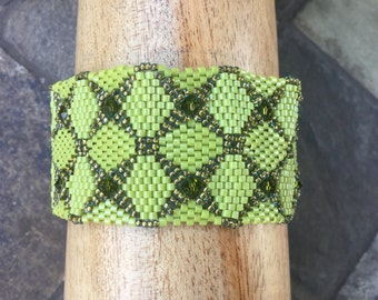Snakeskin Cuff Bracelet