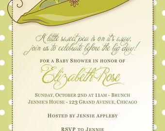 Sweet Pea Baby Shower (Gender Neutral)