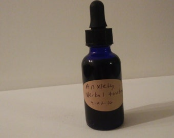 Herbal Tincture for Anxiety