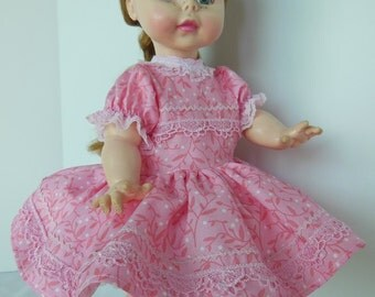 "Pink Party Dress For Effanbee 15"" Lil' Suzie Sunshine Dolls"