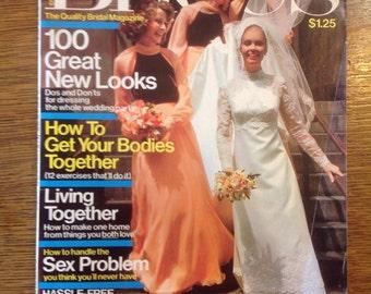 Brides Magazine October/November 1975
