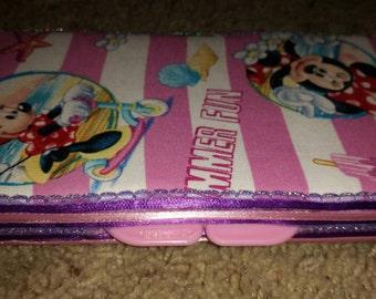 Minnie Mouse diaper wipe case