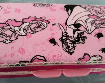 Sleeping Beauty Diaper Wipe Case