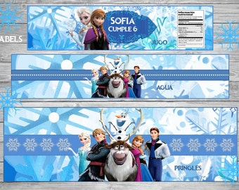 New!!!!Girl!!!FROZEN Printable Party Set!!!!