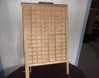 Ludlow letterpress printers tray