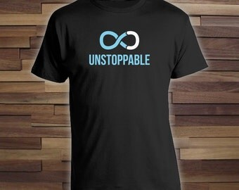 Unstoppable - Prostate Cancer Awareness t-shirt for family, friends and loved ones, cancer survivor tshirt, cancer walk tshirt - CT-050