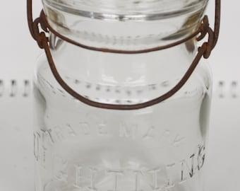 Trade Mark Lightning Canning Jar