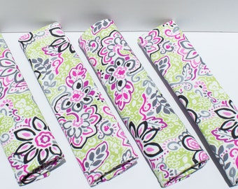Floral Seat Belt Cushions/Cover/Pad