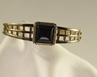 Bronze Onyx Bracelet