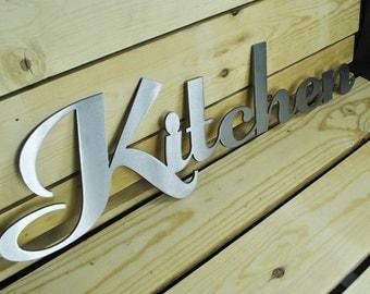 Kitchen Sign-Metal sign