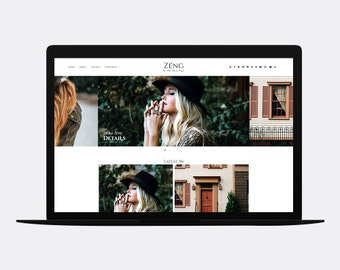 Responsive Blogger template | ZÉNG