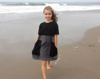 Girls fleece dress fall/winter