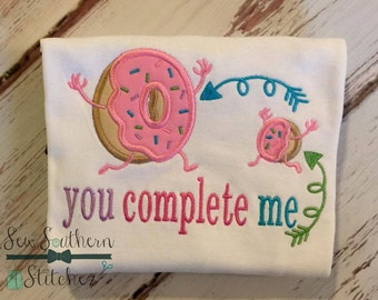 Doughnut Hole ~ Doughnut Applique Design ~ Yummy Doughnuts with Sprinkles ~ With Saying ~ Instant Download
