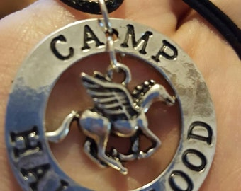 Percy jackson camp half-blood necklace