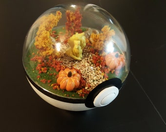 Pokemon Diorama, Fall Theme
