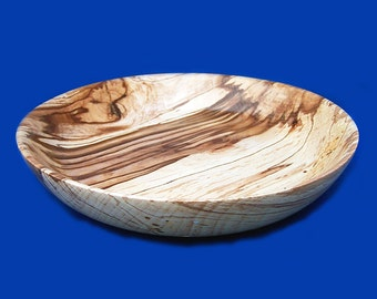 "A uniquely patterned  ""spalted""  Beech Bowl"