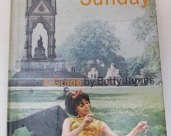 Swinging Sixties London - Vintage Book - London on Sunday