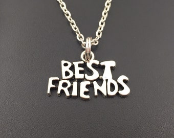 Best Friends Necklace, Valentine's Day Gift, Friendship Jewelry, Best Friends Jewelry,  Gift Idea for best friends, Gift for Her under 20
