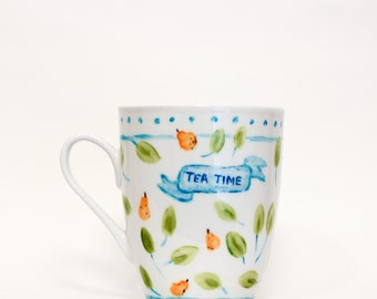 Tea Time - Pear Mug