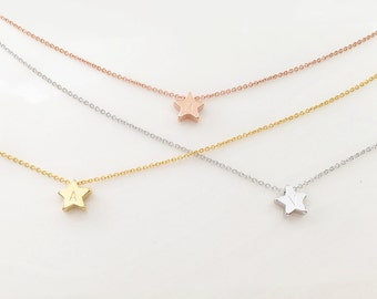 Star necklace personalized kids personalized teen personalized childrens celestial