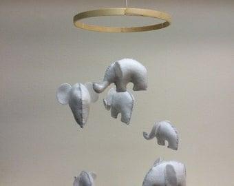 Elephant Baby Mobile