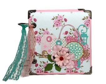 Custom Diary Book - Handmade Diary Her - Gift For Girl -  Floral Diary - Gratitude Journal - Gift For Best Friend - Cute Blank Notebook
