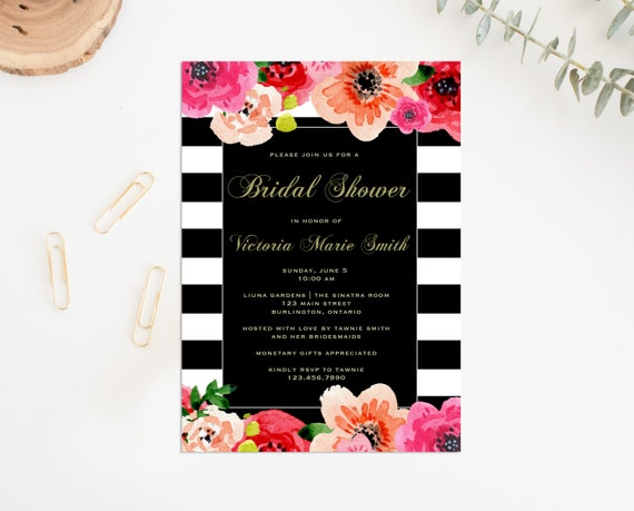Etsy Invitation Template for amazing invitations layout