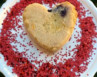 Valentine's Day Filet Mignon Rainbow Carrot Treats