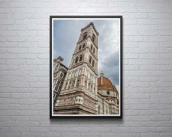 Florence Cathedral Photograph, Duomo, Tuscany, Toscana, Scenery, Italy, Italian, travel photography, Print