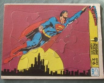 1970s Superman Jigsaw Puzzle