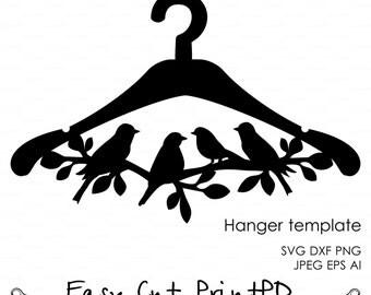 Laser cut hanger | Etsy