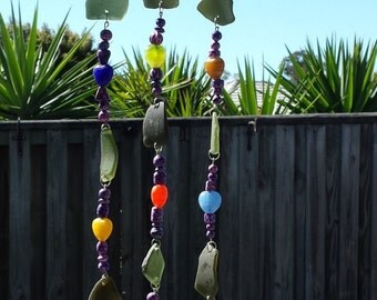 Sea glass Sun catcher