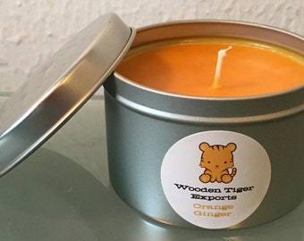 Soy Candle - Orange Ginger