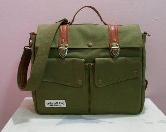 Dark Olive Green Messenger Bags/Handbags/Bags&Purses/School Bags/Bags/Backpacks/Shoulder Bags/Travel bags/Diaper Bag/Crossbody Bags